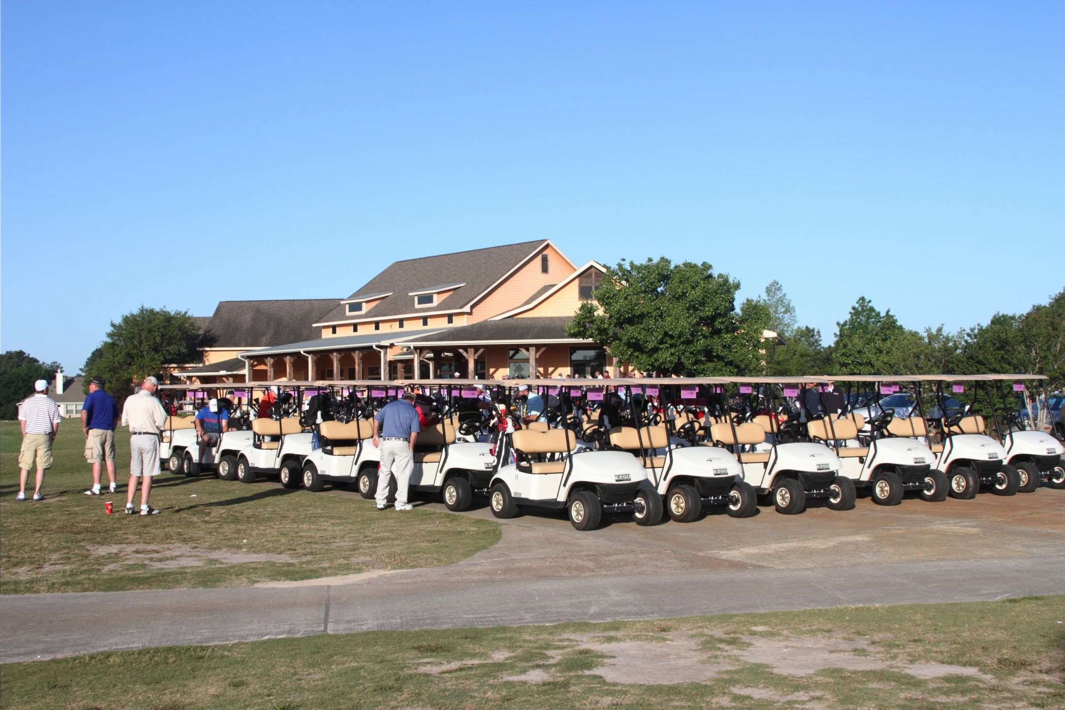 Carts Ready to Roll