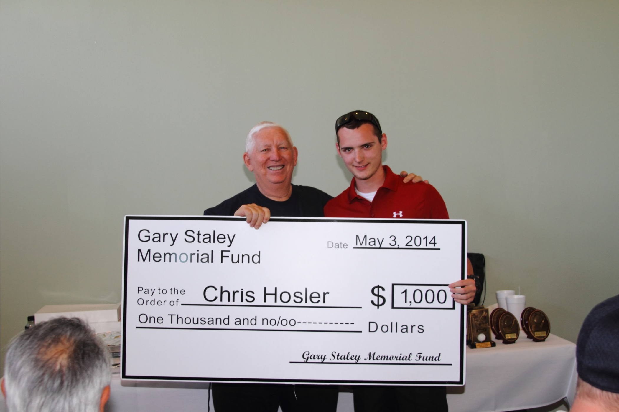 Scholarship Awarded to Chris Hosler
